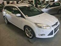 2012 Ford Focus 1.6 TDCI TITANIUM X ESTATE SPEC-WHITE-GREAT FAMILY CAR Estate Di