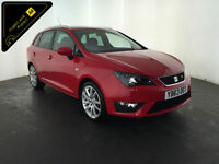 2013 63 SEAT IBIZA FR TSI ESTATE 1 OWNER FROM NEW FINANCE PX WELCOME