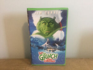 "Dr Seuss' ""How The Grinch Stole Christmas"" VHS"