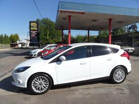 14 (64) FORD FOCUS 1.0 SCTI ECOBOOST ZETEC NAVIGATOR 5DR £30 ROAD TAX, AIR-CON