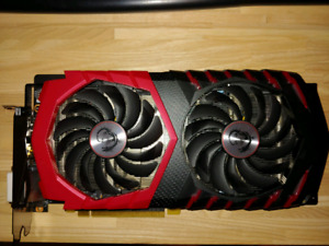 MSI GTX 1060 3GB perfect working condition