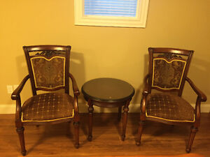 Tea/Coffee Table Set (including 2 chairs) for SALE