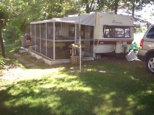 Terry (Cimmeron) Trailer with screened add a room