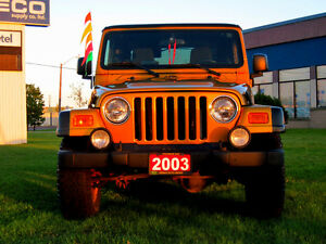 2003 Jeep TJ RARE RUBICON - SOLD ! THANK-YOU !