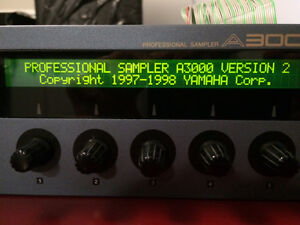 Yamaha A3000 v2, maxed, HD 2gig et zip drives