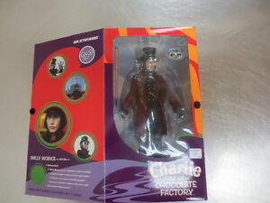 "10"" Willy Wonka Action Figure"