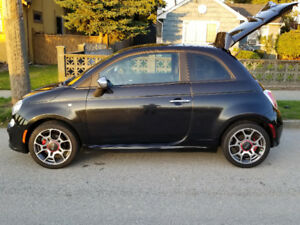 2012 Fiat 500 sport ( original owner and in Immaculate shape )