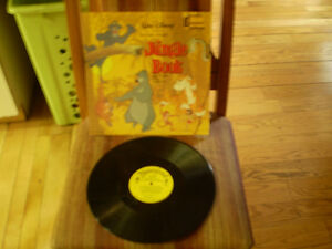 33 tour walt disney presents the jungle book de 1967 Lp