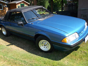 1988 ford LX convertible
