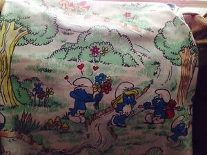 Smurf bed sheet Twin and pillow case Gatineau Ottawa / Gatineau Area image 3