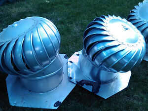 Whirlybird Roofing Vents ($5-10/each)  Used but in great shape