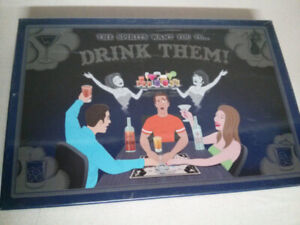 The Spirits Want You To Drink Them Adult Board Game.