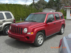 2007 Jeep Patriot sport,4X4,VISA,MASTER