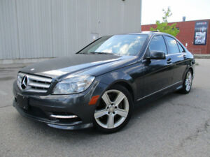 2011 Mercedes-Benz C-Class Sedan ONLY 100000KMS