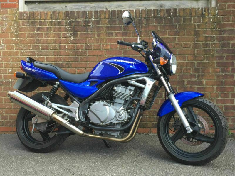 Deposit Received  2005 Kawasaki Er500 Er5   12 854 Miles