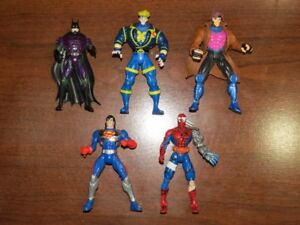 Marvel and DC Super Hero Action Figure Lot