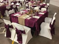 Wedding Table cloths & Chair Covers