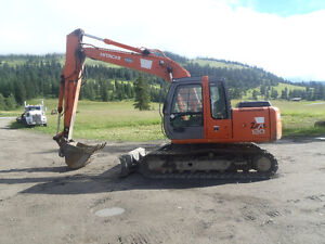 2008 Hitachi Zaxis 120 with Blade