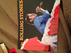 Vintage Rolling Stones Collectable Book