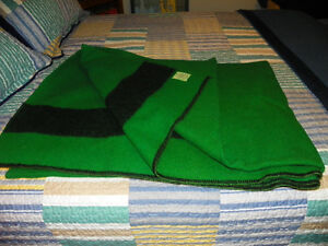 HBC Green Wool Blanket