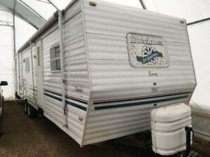 trade 36ft for small trailer or 5th wheel