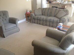 Sofa Set w/ Side Table