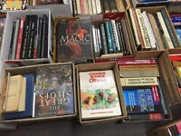 Book lovers !!!!  Massive indoor auction may 4