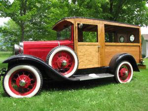 1930 MODEL-A HUCKSTER VAN