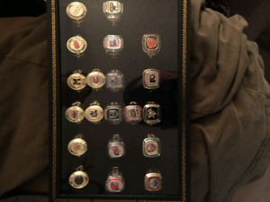 Molson Canadian NHL  Stanley cup rings