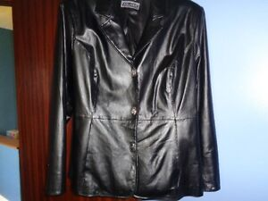 Leather jacket-like NEW-really a lovely jacket!