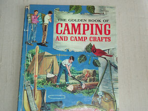 """BOY SCOUTS 1959 """"GOLDEN BOOK CAMPING - CAMP CRAFTS"""