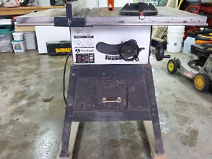 """Rockwell 9"""" Table Saw Trade for a Guitar"""