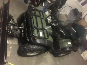 2001 Honda Foreman 4X4 450, just like new(With a plow)