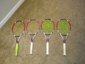 K factor Six One 95 3/8 grip Tennis Racquets for Sale