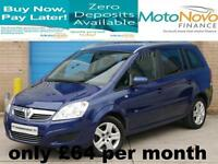 Vauxhall/Opel Zafira 1.8i 16v VVT 2010MY Active TAKE ME HOME FOR £64 PER MONTH