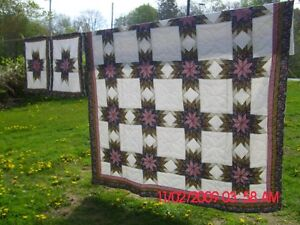 Queen size Quilt with Two Shams