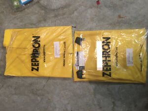 Zephron yellow rain suit. Brand new