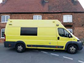 Ex Ambulance For Camper Van Conversion
