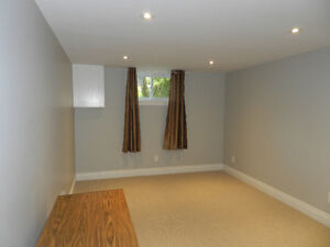 Studio Basement Apartment for Rent in Burlington!!