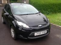 Ford Fiesta 1.6TDCi 2009MY Econetic 88 mpg LOW TAX