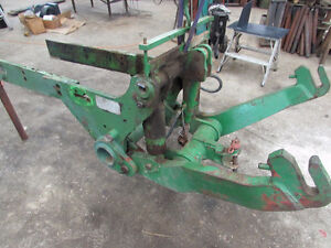 Front three point hitch for John deere