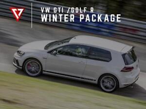 2018 - 2019 VW GTI / GOLF R  WINTER TIRE + WHEEL Package T1 Motorsports
