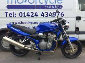 Suzuki GSF600 Bandit / 3334 miles from new! Nationwide delivery / Finance