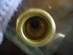 gold trombone mouthpiece