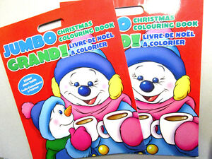 KIDS CHRISTMAS ACTIVITY PACK-JUMBO COLORING Bk, PUZZLES & STAMPS