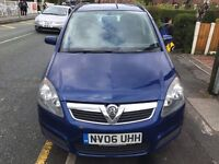 Vauxhall zafira 7 seater club long mot great value for money