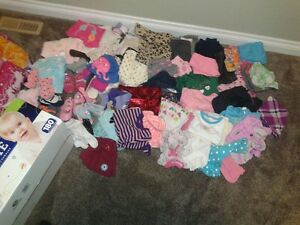 Box of Girls Clothes (88 items)