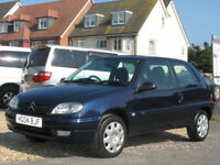 2004 CITROEN SAXO 1.1i Desire 3 DOOR HATCH - ONLY 52000 MILES - IDEAL 1ST CAR !!