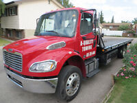 Calgary and surrounding towing Forklift,Bobcat A-Quality.......
