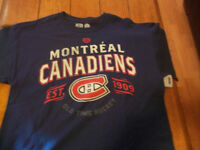 Montreal Canadians men's tshirt- large